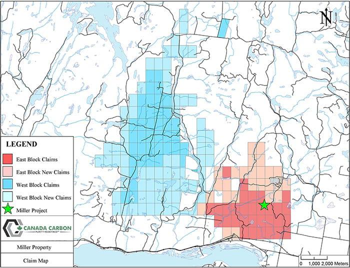 Miller Property Claim Map (April 3, 2017)