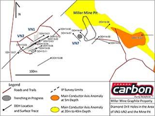 Diamond Drill Hole Location Maps