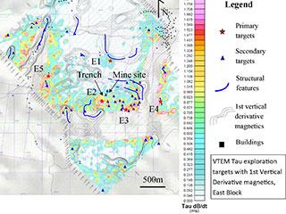 VTEM-based Exploration Targets, East Block